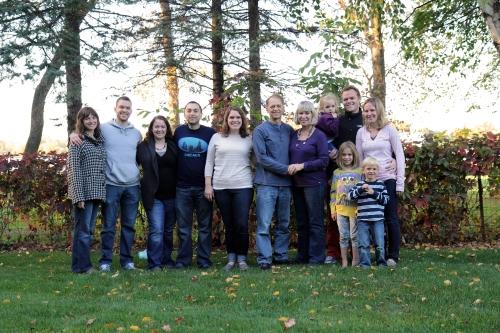 Family at Green Lake 2013