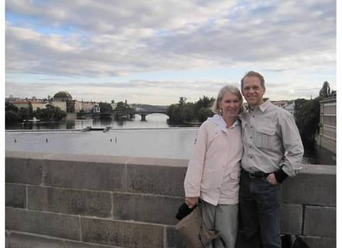 Tom and I in Prague