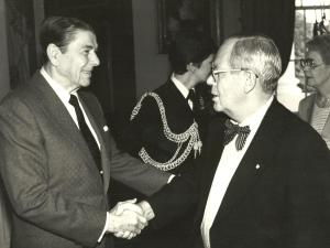 My Dad and Ronald Reagan