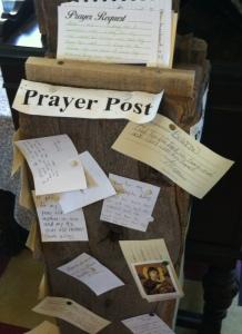 A Public Prayer Post